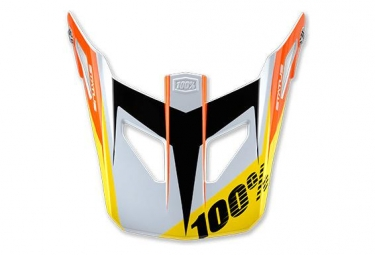 100% Status D-Day White replacement visor