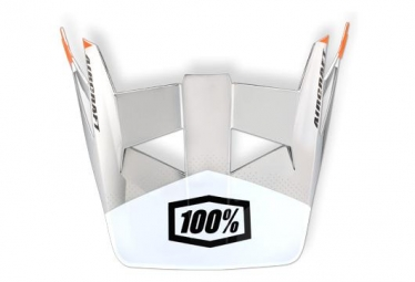 100% Aircraft - R8 Chrome Helmet Replacement Visor