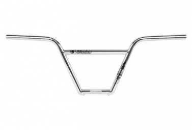 Guidon bmx freestyle crowbar featherweight 4 pc chrome argent 9 10