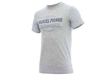 T shirt marcel pignon homme specialiste gris s