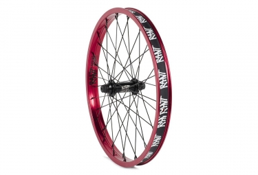 Rant Party On V2 Front Wheel BMX Freestyle Red 2018