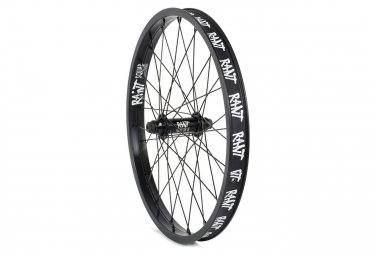 Rant Party On V2 Front Wheel BMX Freestyle Black 2018