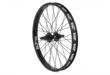 Rant BMX Freestyle Party On V2 Rear Cassette Wheel Black 2018