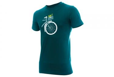 T-shirt MARCEL PIGNON Homme Panier Vert