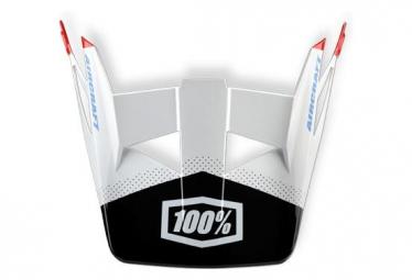 Visière de rechange pour casque 100% Aircraft - R8 Blanc