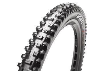 Pneu vtt maxxis shorty 27 5 tubeless ready souple wide trail wt 3c maxx grip 2 50