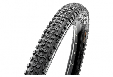 Pneu vtt maxxis agressor 27 5 tubeless ready souple wide trail wt dual compound exo protection 2 50