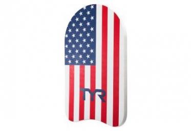 TYR Kickboard USA Red Navy
