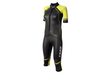 Zone3 SwimRun Versa Wetsuit Black Blue Yellow