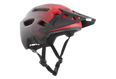 TSG Helmet Trailfox Graphic Design Sides Red/ Black