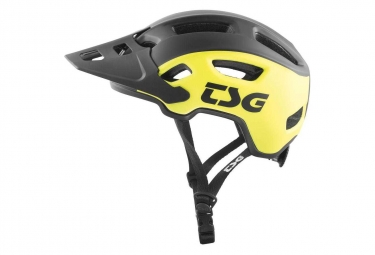 Casque TSG Trailfox Graphic Design Jaune/ Noir