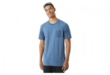 Oakley T-Shirt Kurzarm 50-Solid Pkt Hellblau