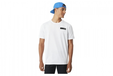 T shirt manches courtes so oakley stack blanc l