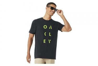 Oakley Camiseta manga corta SC-RunDown Black