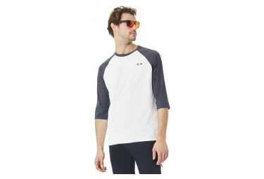 T shirt manches 3 4 oakley so dtp cir raglan blanc l