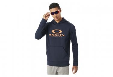 Sweat a capuche oakley 360 po fleece bleu marine l