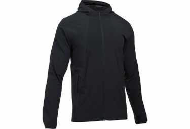 Veste coupe vent under armour outrun the storm noir l