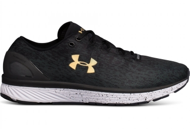 Chaussures de running under armour charged bandit 3 ombre noir gris anthracite 45