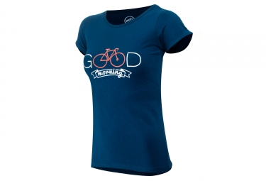 MARCEL PIGNON Good Morning Tee Women's Blue