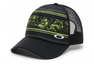 Casquette oakley mesh sublimated trucker vert olive noir