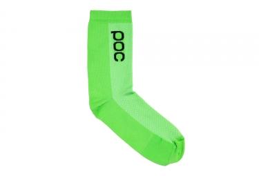 Poc EF-DRAPAC REPLICA  Socks  - Vert