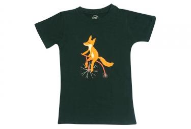 T-shirt MARCEL PIGNON Enfant RENARD Vert