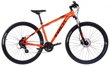 Produit reconditionne vtt semi rigide trek 2018 marlin 6 29 shimano altus 8v orange