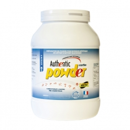 Recharge energetique authentic nutrition avant l effort boite 1200gr arome nature