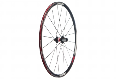 Roue arriere sram alu s27 comp 9x130mm corps shimano sram