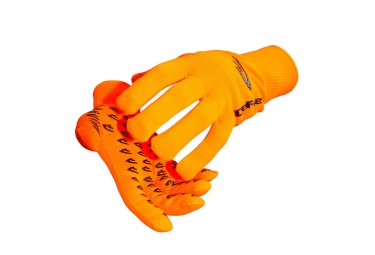 Paire de Gants Longs Defeet Duraglove Etouch Orange