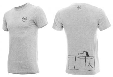 T shirt marcel pignon homme 3 poches gris s