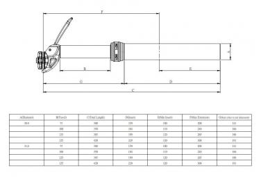 Tige de Selle Téléscopique KIND SHOCK Dropzone V3 Débattement 125mm