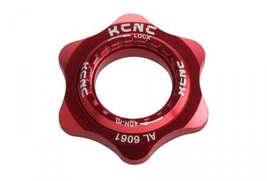 Adaptateur centerlock kcnc al6061 rouge