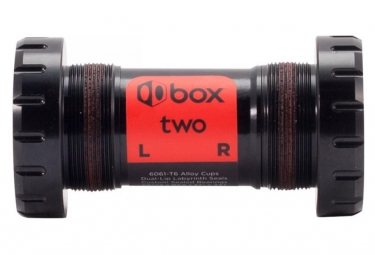 Boitier de pedalier box two 68 73mm 30mm noir