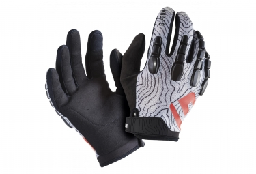 G-FORM Pro Trail Long Gloves Black/Topo