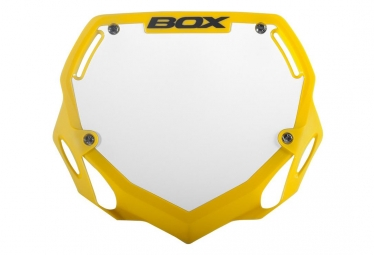 Box Phase 1 Handlebar plate Yellow Large