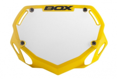 Box Phase 1 Handlebar plate Yellow Small