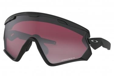 Lunettes Oakley Wind Jacket 2.0 Noir Mat Prizm Snow Noir / ref. OO9418-0245