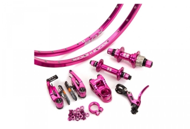 Kit box complet mini edition limitee 40mm fushia