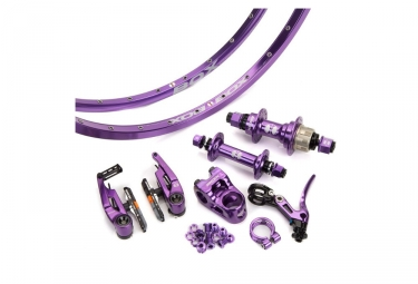 Kit box complet mini edition limitee 45mm royal purple