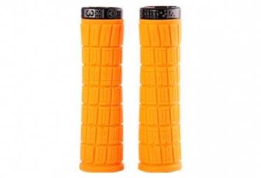 Poignées Lock on SB3 Flowy AM Orange fluo /Noir