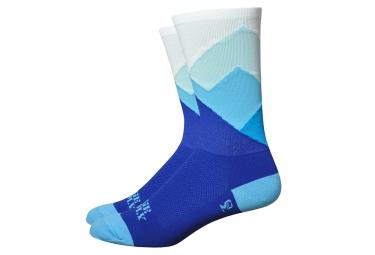 Calcetines DeFeet Ridge Supply - Bleu