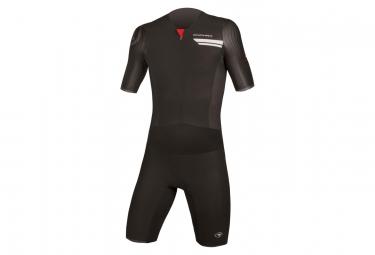 ENDURA QDC Drag2Zero Short Sleeve Tri Suit Black