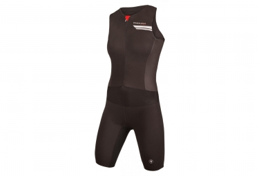 ENDURA Wms QDC Drag2Zero Short Leeves Lite Tri Suit Black