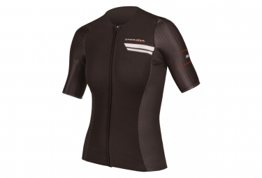 ENDURA Wms QDC Drag2Zero Short Sleeve Jersey Black