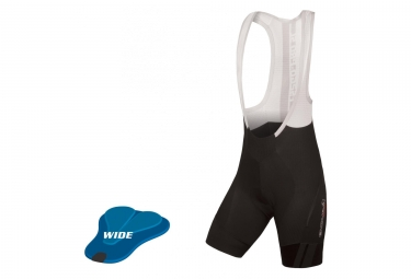 Endura Pro SL Wide Women Bib Shorts (Wide Pad) Black