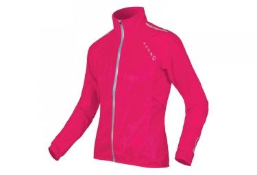 Endura Pakajak II Women Windbreaker Jacket Cerise Pink