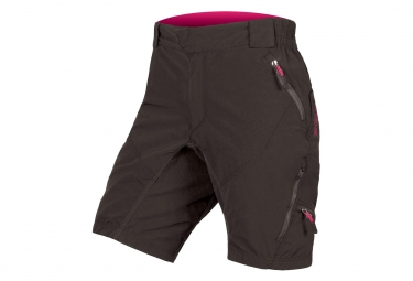 Endura Hummvee II Women Sport Shorts with Liner Black