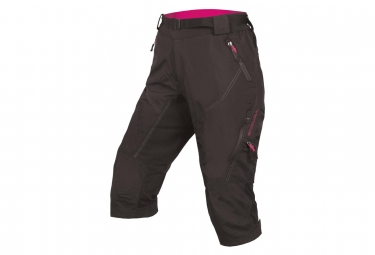 ENDURA Women's Hummvee 3/4 II with liner Black