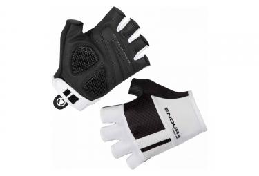 Paire de gants courts femme endura fs260 pro aerogel ii blanc noir xs